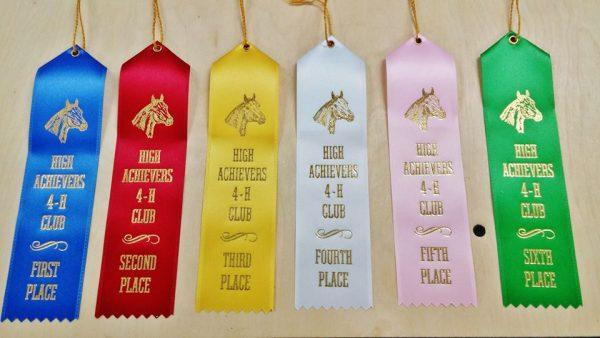 flat award ribbons