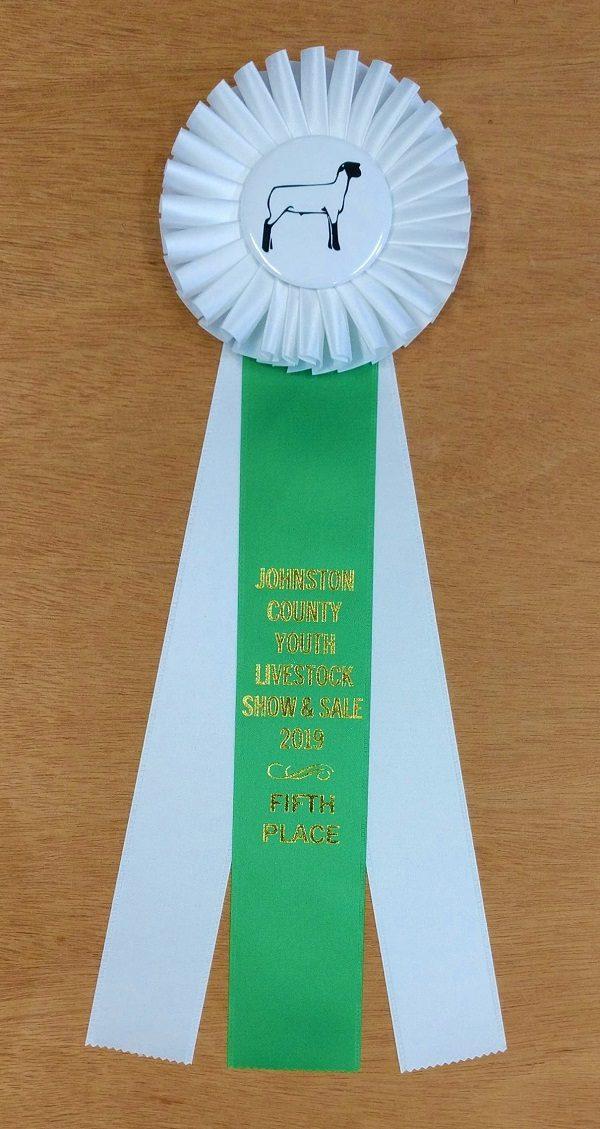 classic 15 award ribbon custom rosette