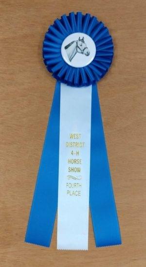 versatility 15 award ribbon custom rosette