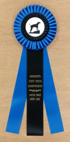 belhaven 15 award ribbon custom rosette