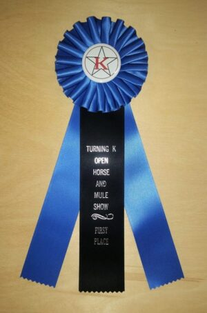 eclectic 12 award ribbon custom rosette