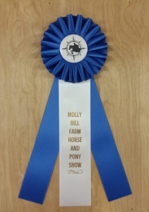 versatility 12 award ribbon custom rosette