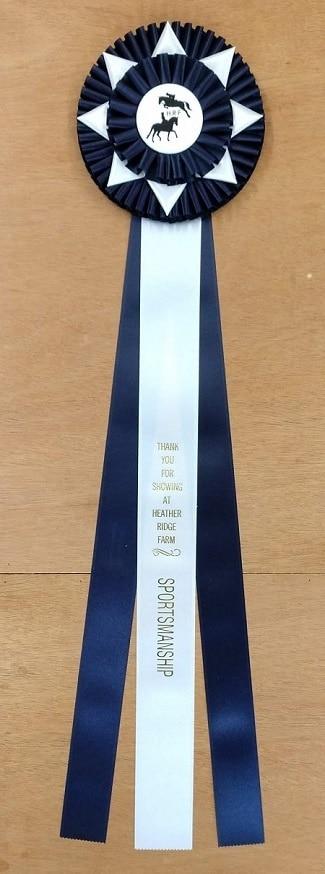 Imperial 28 Champion award rosette ribbon