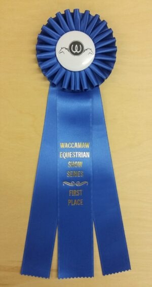 traditional 15 award ribbon custom rosette